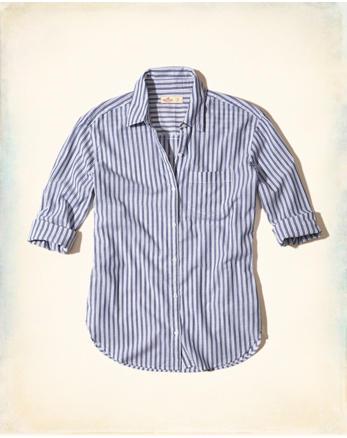 hol Oversized Woven Shirt