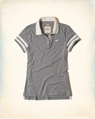 Slim Sleeve-Stripe Polo