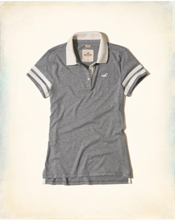 hol Slim Sleeve-Stripe Polo
