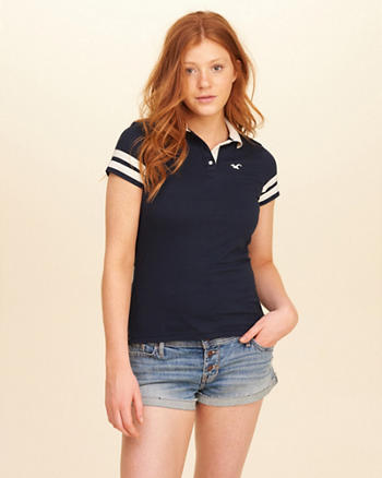 Slim Stripe Icon Polo