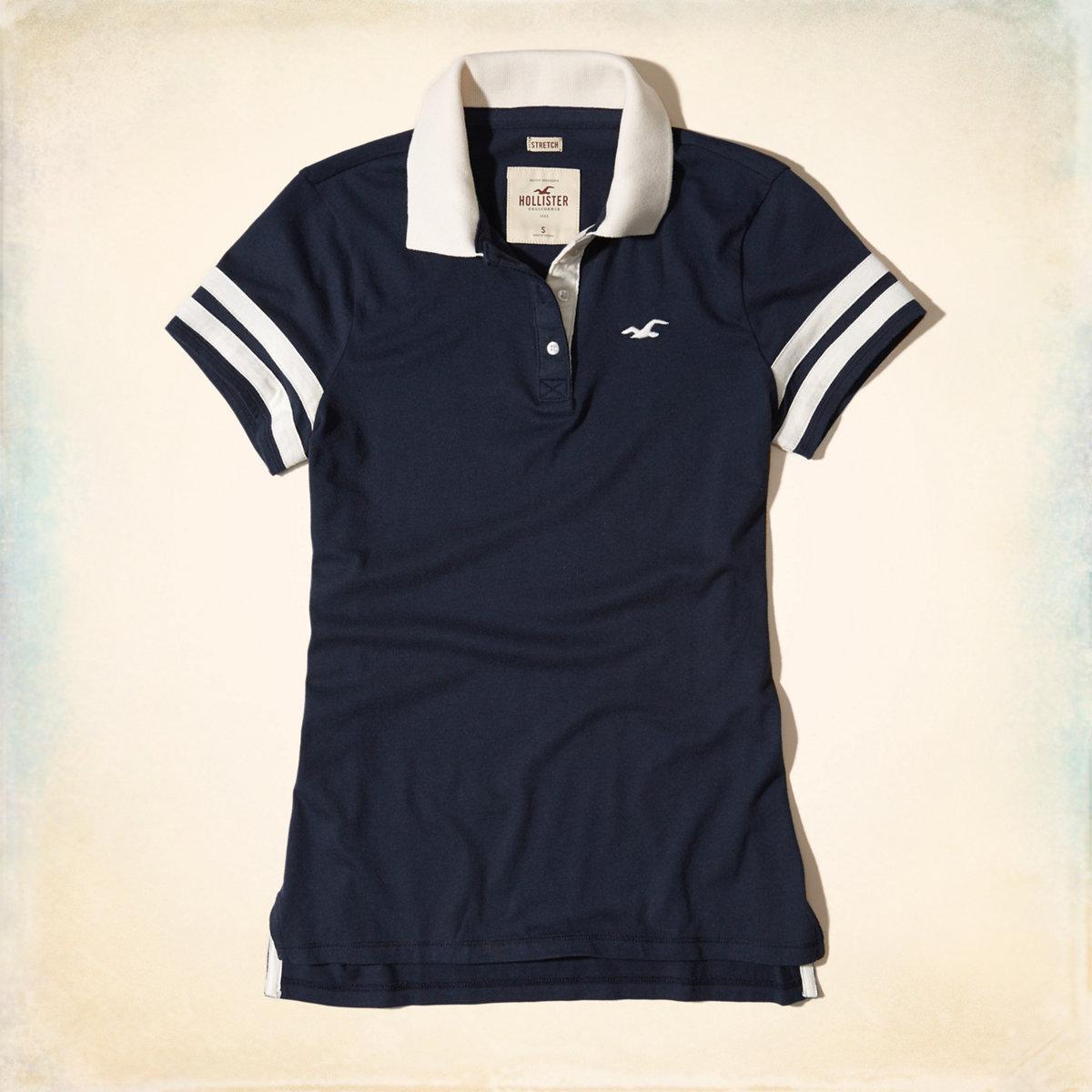 Slim Stripe Icon Polo