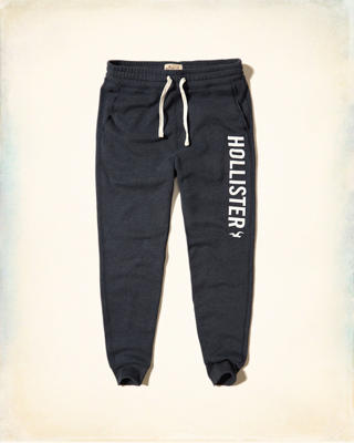 Graphic Skinny Fleece Jogger Pants
