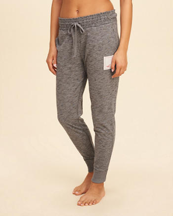 Smocked Waist Jersey Joggers