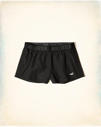 hol Ruched Nylon Icon Shorts