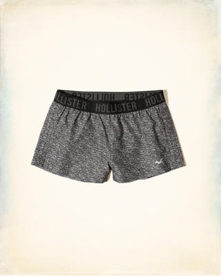 Ruched Nylon Icon Shorts