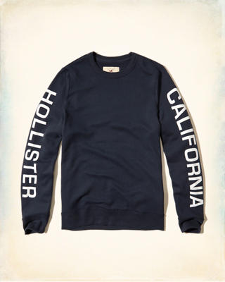 Logo Graphic Crew Sweatshirt