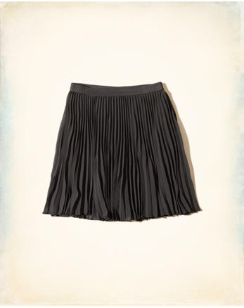 hol Pleated Skater Skirt