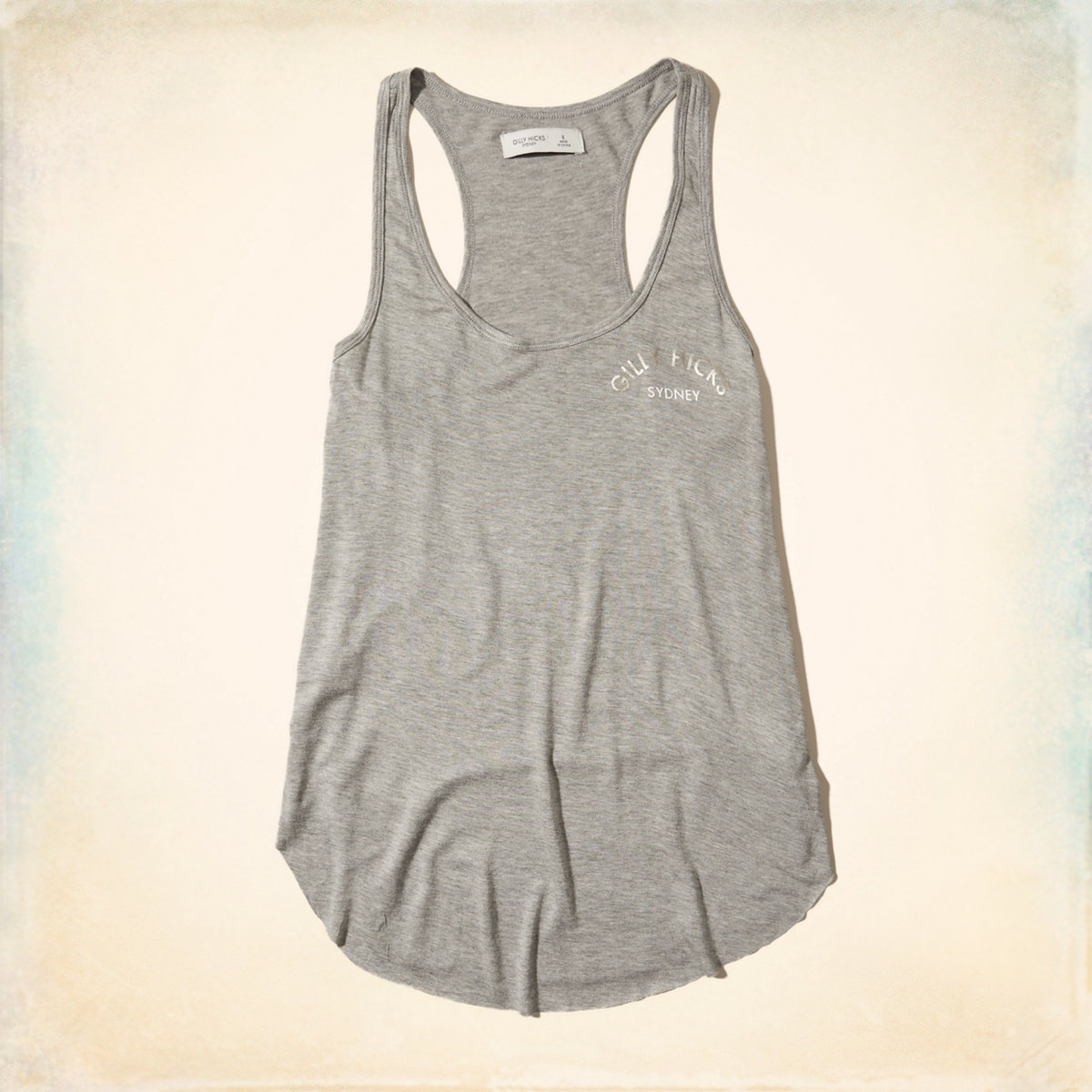 Metallic Logo Graphic Tank