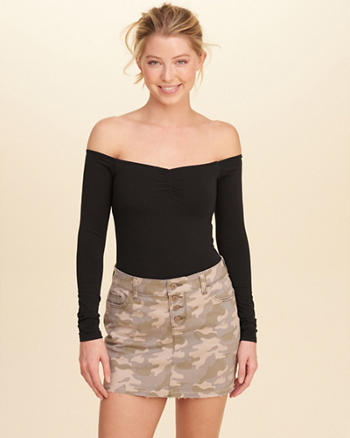 Slim Off-The-Shoulder Top
