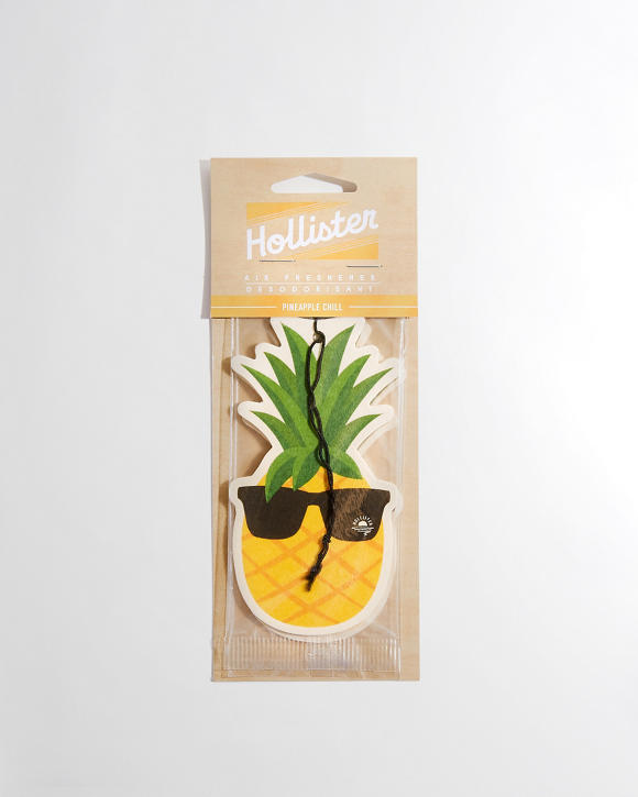 Pineapple Accessories guys hollister pineapple chill air freshener | guys accessories