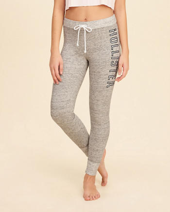 Textured Fleece Leggings