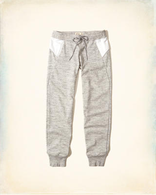 Colorblock Graphic Tricot Joggers