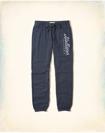 hol Logo Graphic Banded Sweatpants