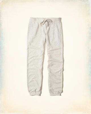 Logo Graphic Banded Sweatpants