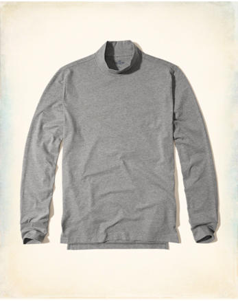 hol Mock Neck Jersey T-Shirt