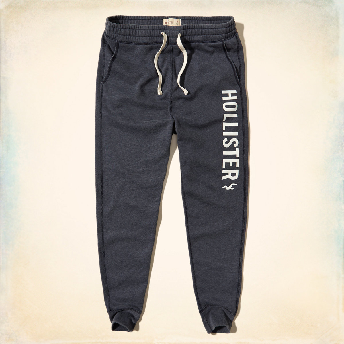 Graphic Skinny Jogger Pants