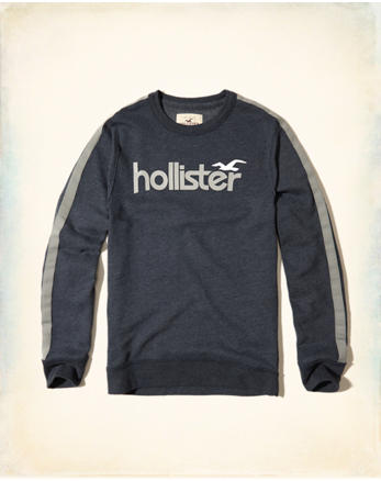 hol Logo Graphic Crew Sweatshirt