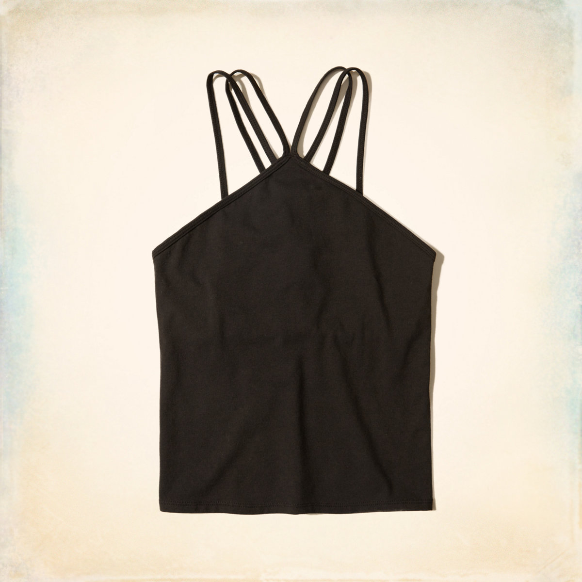 Strappy High-Neck Cami