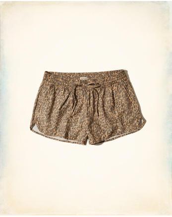 hol Curved Hem Soft Twill Shorts