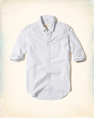 Stretch Stripe Poplin Shirt