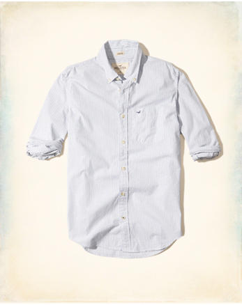 hol Stretch Stripe Poplin Shirt