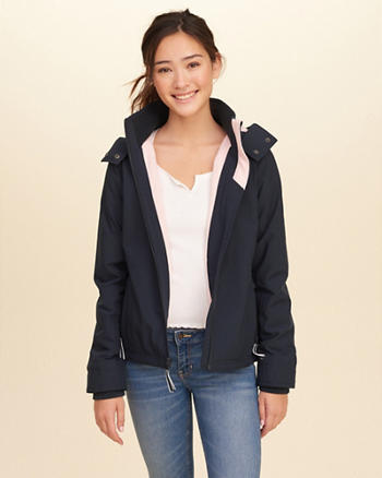 Hollister All-Weather Stretch Nylon Jacket