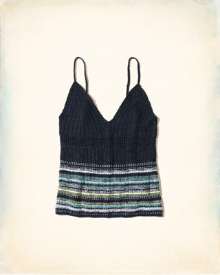 V-Neck Sweater Cami