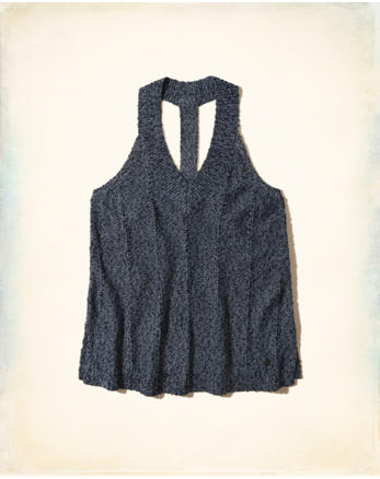 hol T-Back Sweater Tank