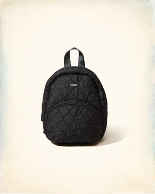 Quilted Satin Mini Backpack