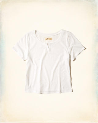 Notch Neck Baby T-Shirt
