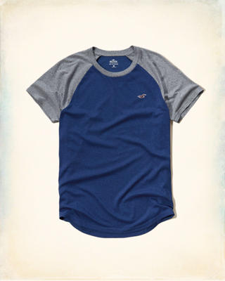 Must-Have Colorblock Raglan T-Shirt