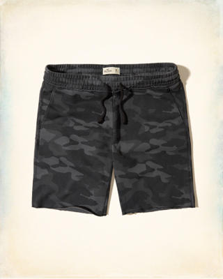 Camo Classic Fit Fleece Shorts