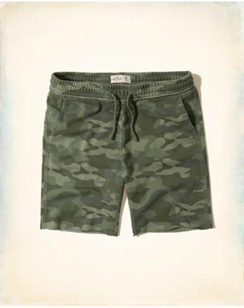 hol Camo Classic Fit Fleece Shorts