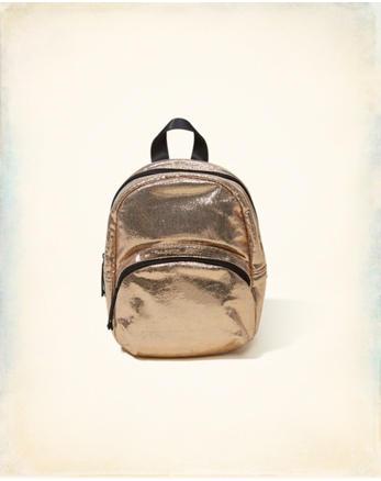 hol Metallic Mini Backpack