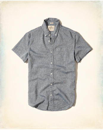 hol Short-Sleeve Linen Shirt