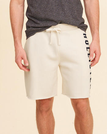 Graphic Fleece Shorts