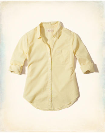 hol Button-Front Woven Shirt