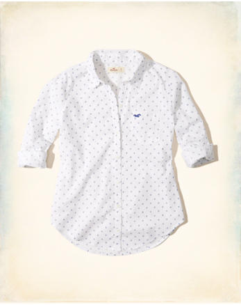 hol Patterned Woven Shirt