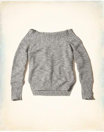 hol Off-The-Shoulder Sweater