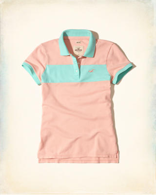Slim Colorblock Polo