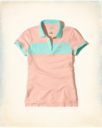 hol Slim Colorblock Polo