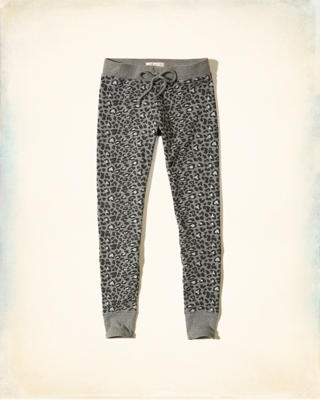 Hollister Patterned Fleece Leggings