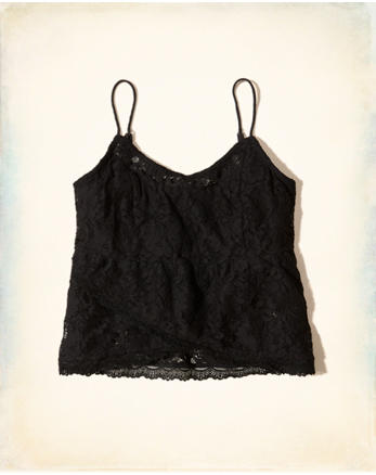 hol Lace Babydoll Cami