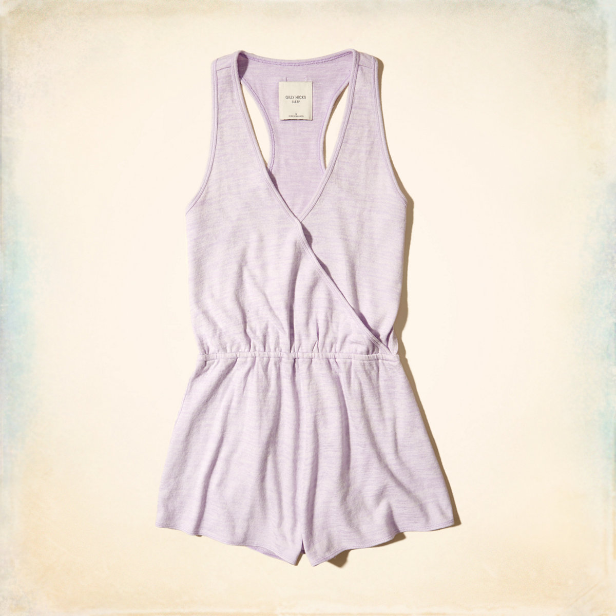 Wrap Front Sleep Romper