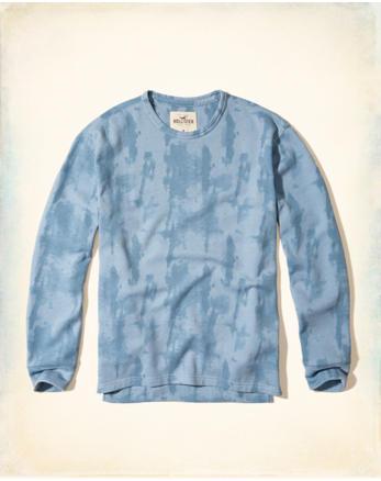 hol Garment-Dye Crew Sweatshirt