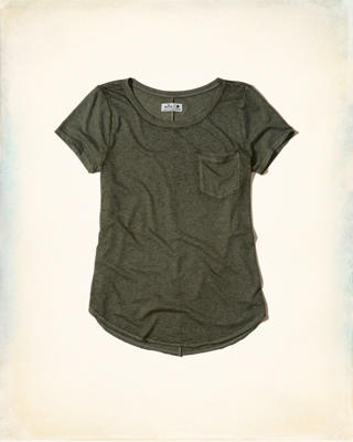 Burnout Pocket T-Shirt