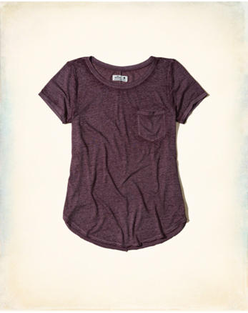 hol Burnout Pocket T-Shirt