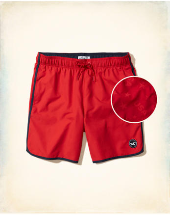 hol Beach Prep Fit Swim Trunks