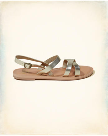hol Strappy Leather Sandals