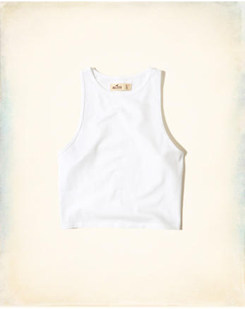 hol Must-Have High-Neck Crop Top